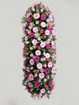 bloemstuk kist bedekking