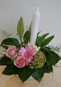 bloemstuk maria stukje