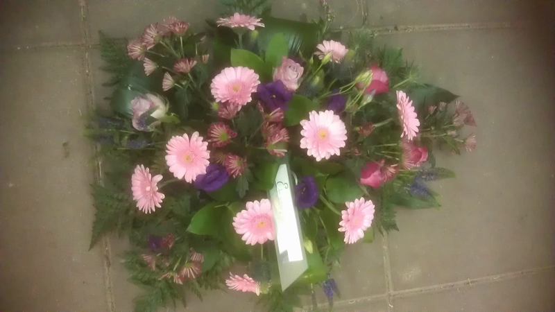 bloemstuk lilatinten